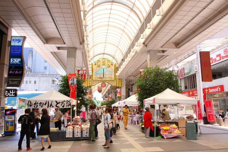 Ιαπωνία Σεντάι στοκ εικόνα με δικαίωμα ελεύθερης χρήσης