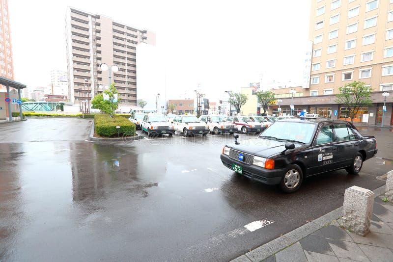 Ιαπωνία: Ταξί στοκ φωτογραφίες