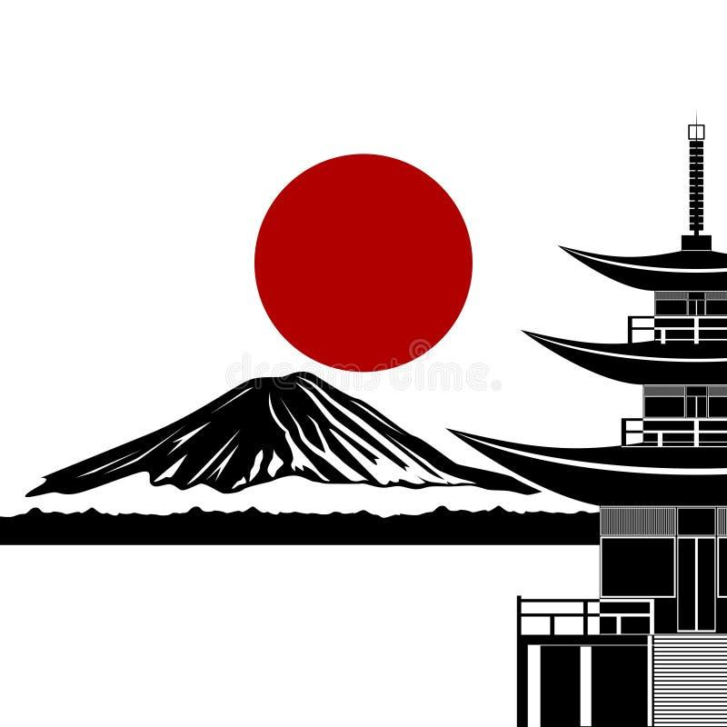 Ιαπωνία ελεύθερη απεικόνιση δικαιώματος
