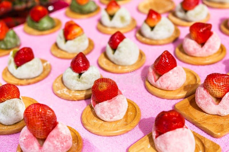 Ιαπωνικά γλυκά daifuku στοκ εικόνες