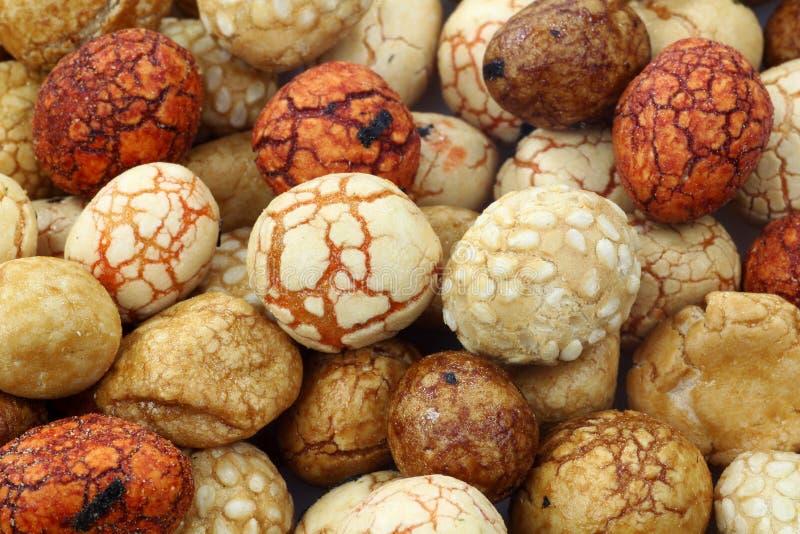 ιαπωνικά καρύδια στοκ εικόνες
