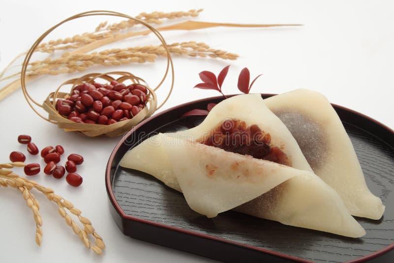 Ιαπωνικά κόκκινα γλυκά κολλών φασολιών, ιαπωνικά τρόφιμα στοκ φωτογραφίες με δικαίωμα ελεύθερης χρήσης