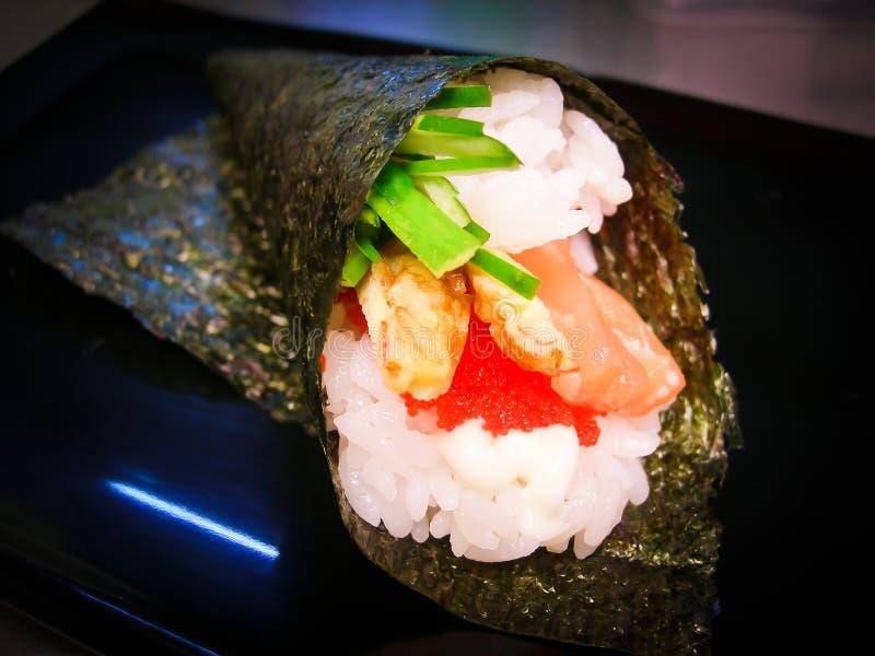 Ιαπωνικά τρόφιμα. ιαπωνική συλλογή τροφίμων στοκ εικόνα