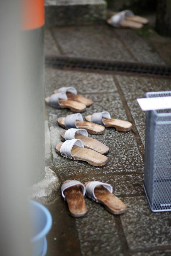 Ιαπωνικές παντόφλες στοκ εικόνες με δικαίωμα ελεύθερης χρήσης