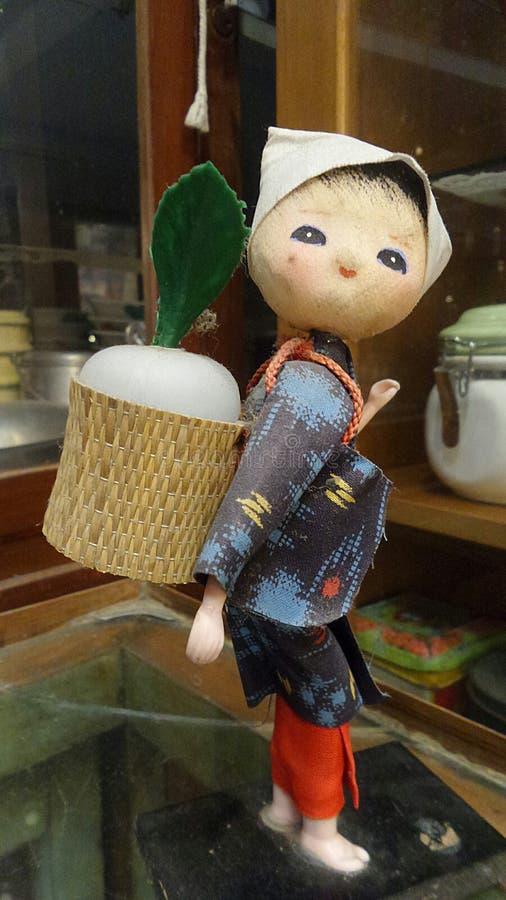 Ιαπωνική κούκλα γυναικών χωρικών στοκ φωτογραφίες