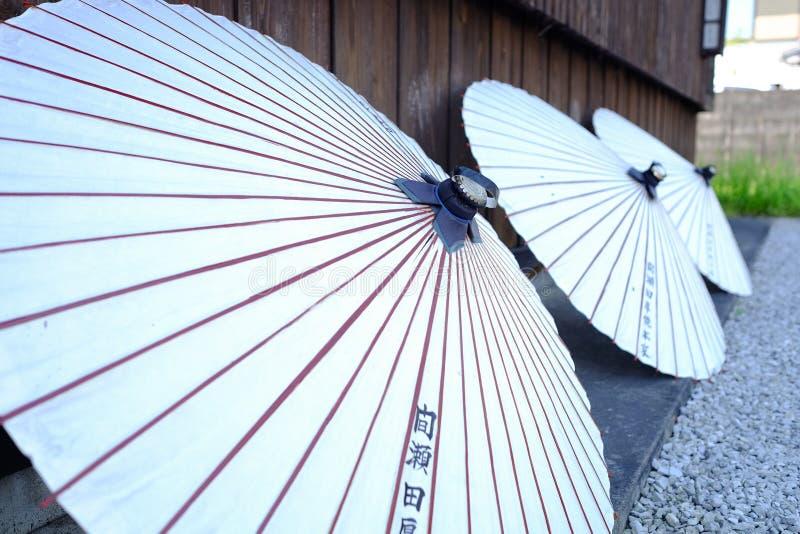 Ιαπωνική ομπρέλα στοκ εικόνες
