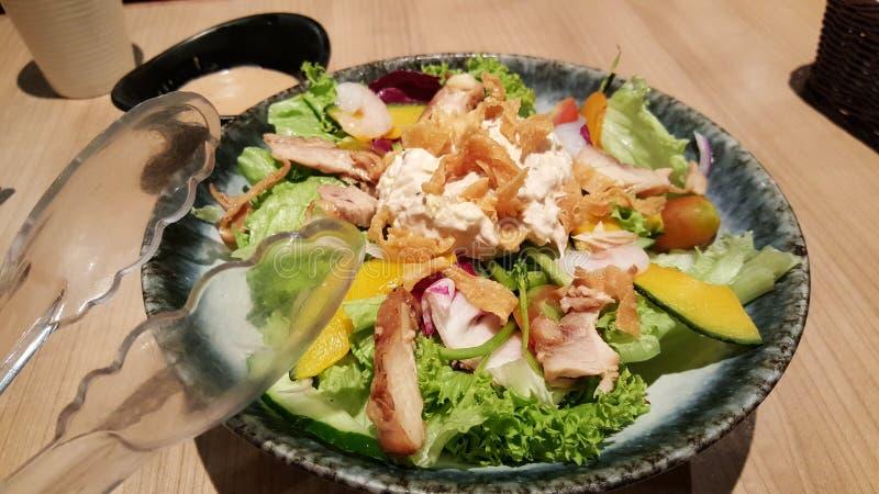 ιαπωνική σαλάτα στοκ εικόνες
