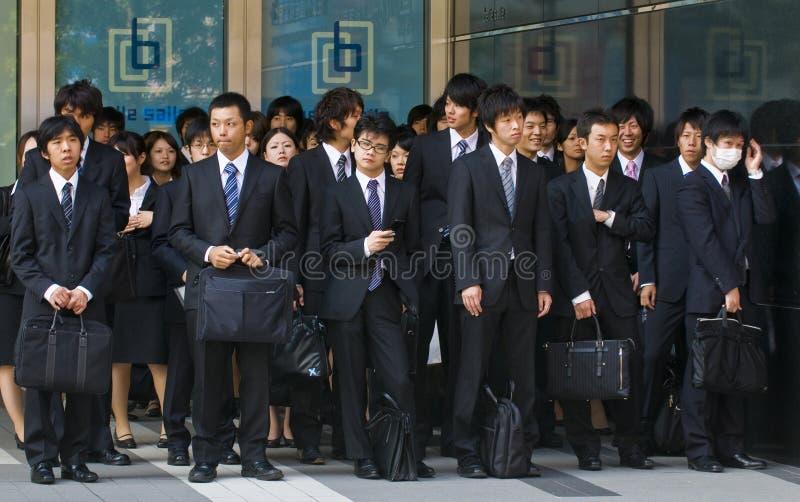 ιαπωνικοί εργαζόμενοι γ&rh στοκ φωτογραφίες με δικαίωμα ελεύθερης χρήσης