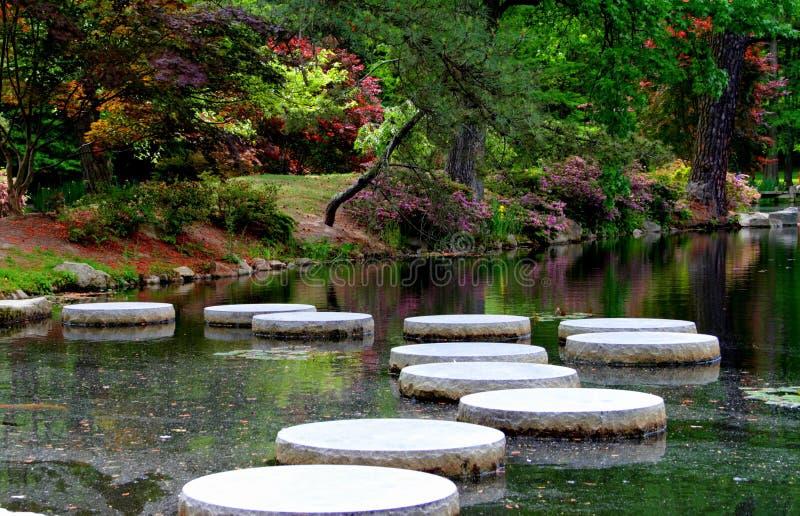 Ιαπωνικοί κήποι στην Αμερική στοκ φωτογραφίες