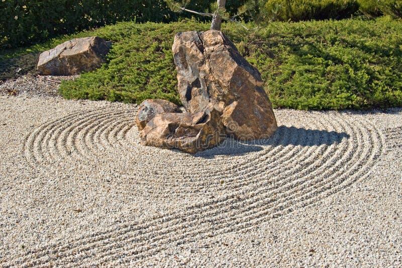 ιαπωνικός βράχος αμμοχάλι στοκ εικόνα με δικαίωμα ελεύθερης χρήσης