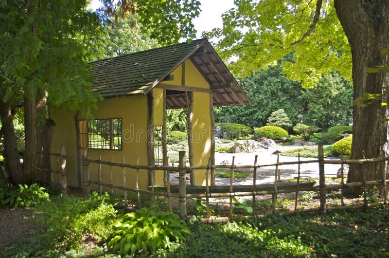 Ιαπωνικός κήπος στο κολλέγιο Carleton στοκ εικόνες