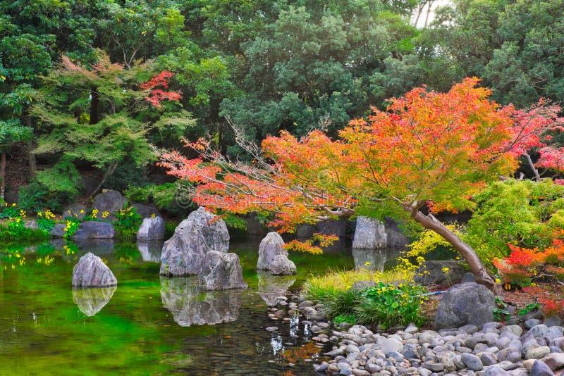 """Ιαπωνικός κήπος του αναμνηστικού πάρκου EXPO """"70 στοκ φωτογραφία με δικαίωμα ελεύθερης χρήσης"""
