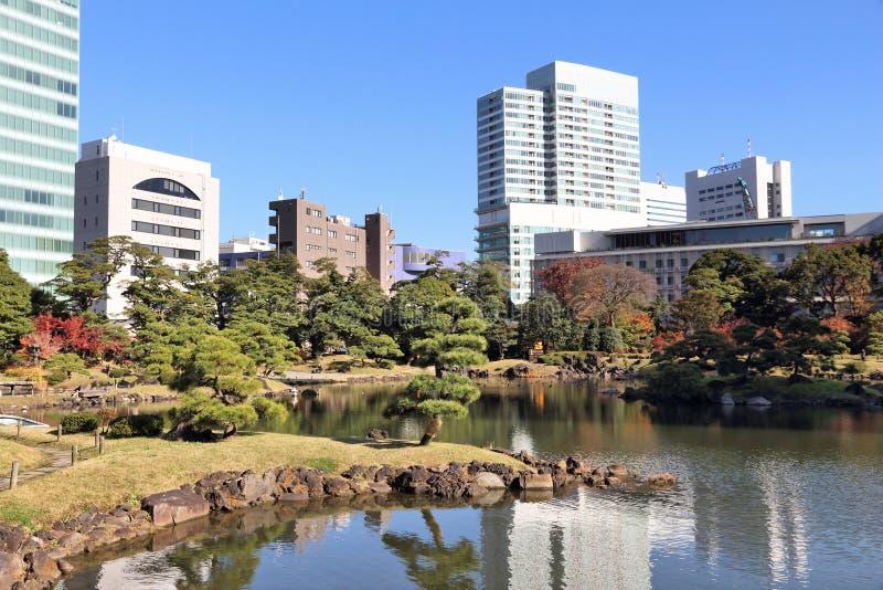 Ιαπωνικός κήπος του Τόκιο στοκ εικόνες με δικαίωμα ελεύθερης χρήσης