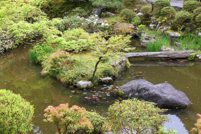 Ιαπωνικός κήπος στοκ φωτογραφία με δικαίωμα ελεύθερης χρήσης