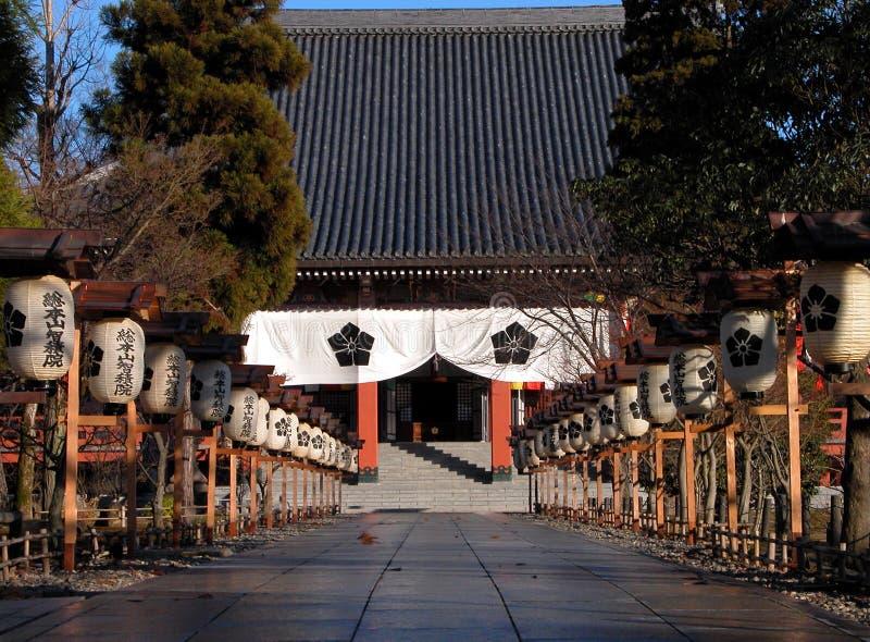 Download ιαπωνικός ναός εισόδων στοκ εικόνα. εικόνα από ναός, καλλιέργεια - 55195