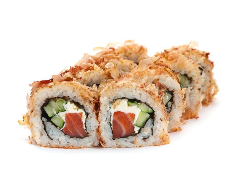 Ιαπωνικός ρόλος τροφίμων στοκ φωτογραφία με δικαίωμα ελεύθερης χρήσης