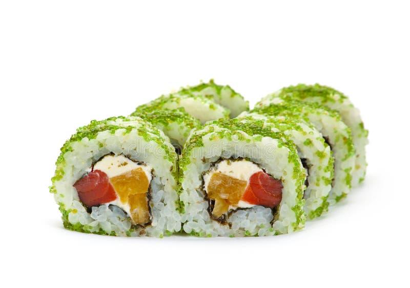 Ιαπωνικός ρόλος τροφίμων στοκ εικόνες
