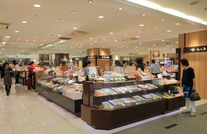 Ιαπωνικό γλυκό πολυκατάστημα Kanazawa Ιαπωνία καταστημάτων στοκ εικόνες