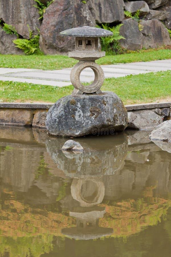 ιαπωνικό πάρκο Ουάσιγκτο στοκ εικόνες