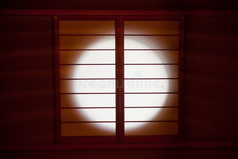 ιαπωνικό παράθυρο στοκ εικόνα με δικαίωμα ελεύθερης χρήσης