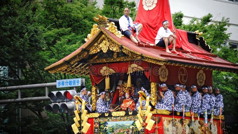 Ιαπωνικό παραδοσιακό φεστιβάλ στοκ εικόνες