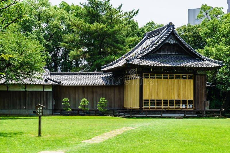 Ιαπωνικό σπίτι τσαγιού στοκ εικόνα με δικαίωμα ελεύθερης χρήσης