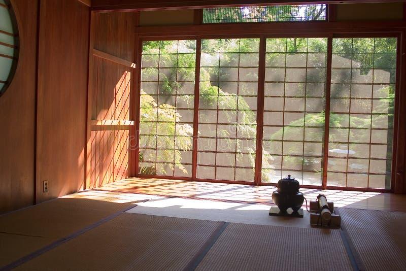 ιαπωνικό τσάι σπιτιών στοκ φωτογραφία με δικαίωμα ελεύθερης χρήσης