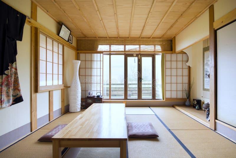 ιαπωνικό δωμάτιο στοκ εικόνες με δικαίωμα ελεύθερης χρήσης
