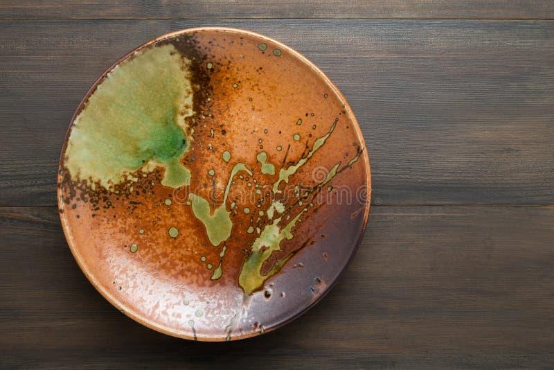Ιαπωνικό ύφος πιάτων στοκ εικόνα