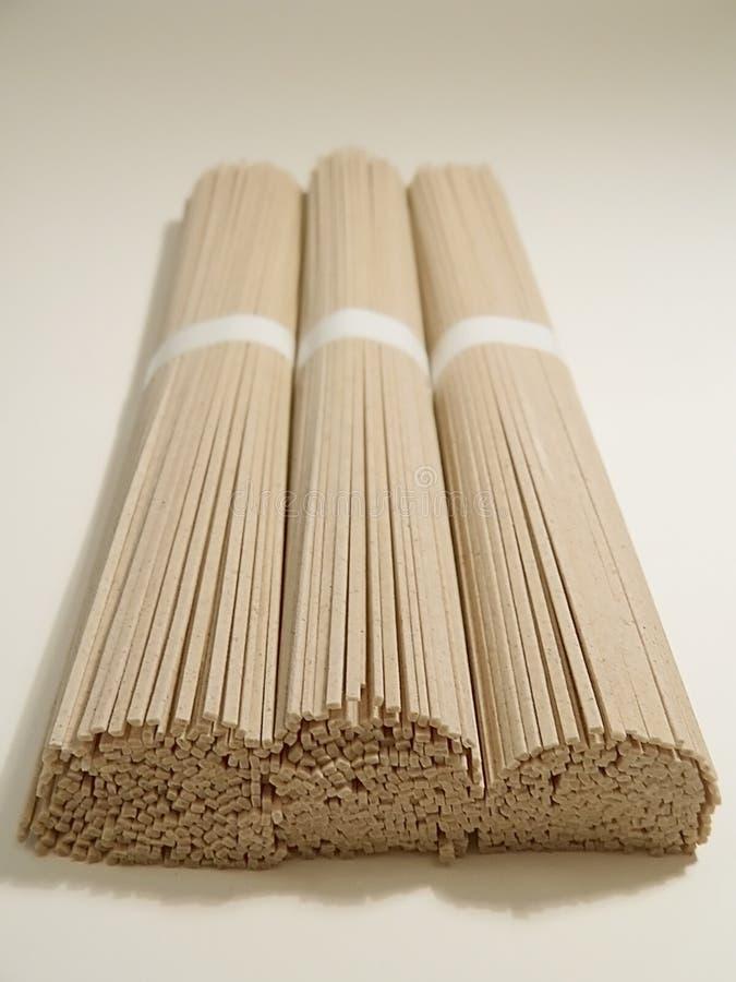 ιαπωνικό noodles soba στοκ φωτογραφία