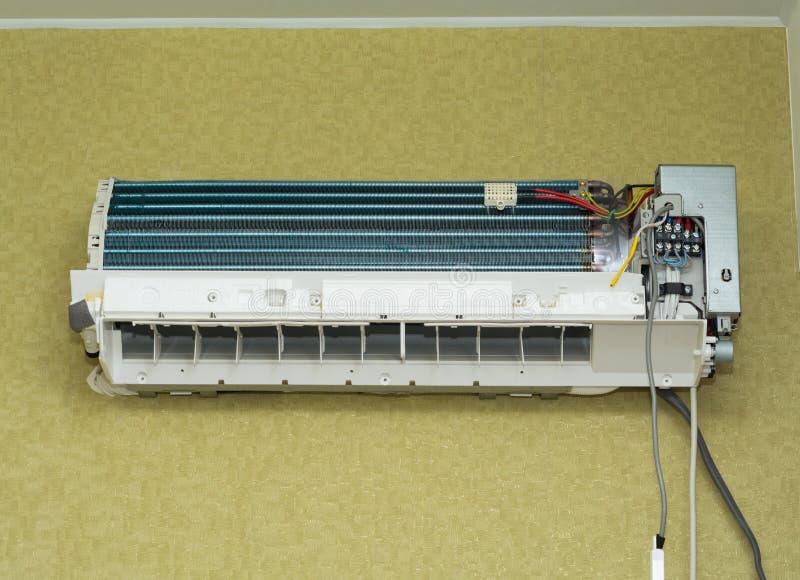 διασπασμένο σύστημα απεικόνισης κλιματιστικών μηχανημάτων στοκ εικόνα