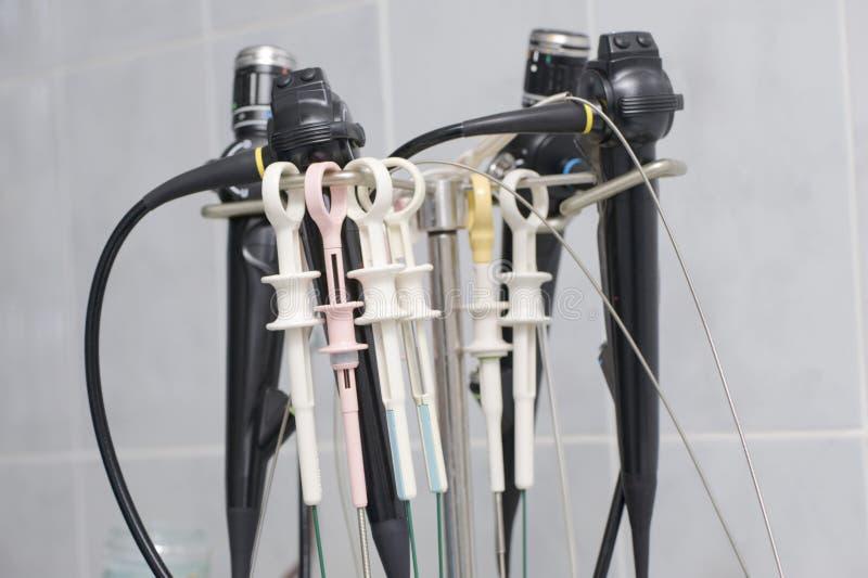 ιατρικά εργαλεία ενδοσ&k στοκ εικόνες