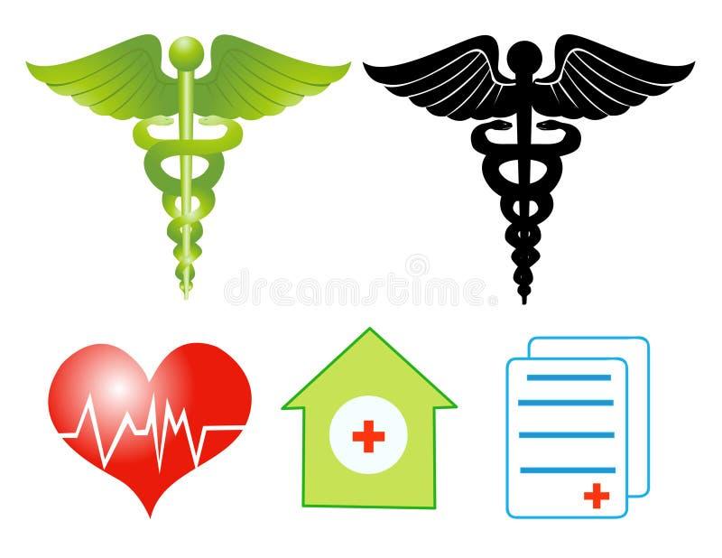 ιατρικά σύμβολα ελεύθερη απεικόνιση δικαιώματος