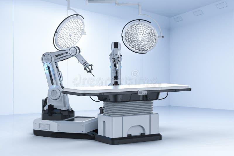 Ιατρική έννοια τεχνολογίας διανυσματική απεικόνιση