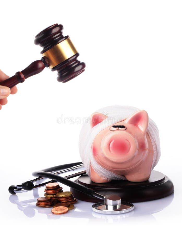 Ιατρική δίκη έννοιας στοκ φωτογραφία με δικαίωμα ελεύθερης χρήσης