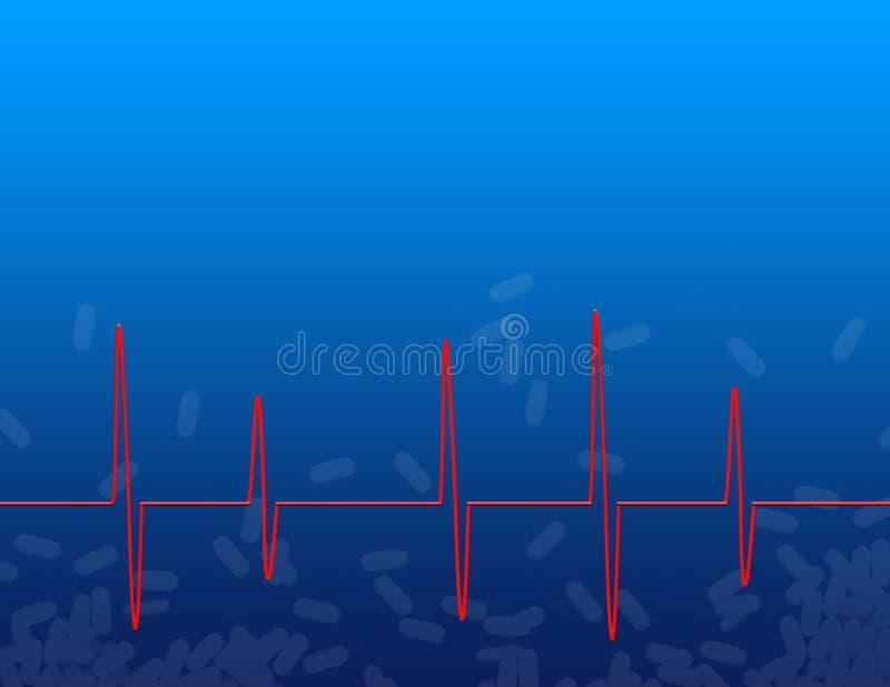 ιατρική καρδιών διανυσματική απεικόνιση