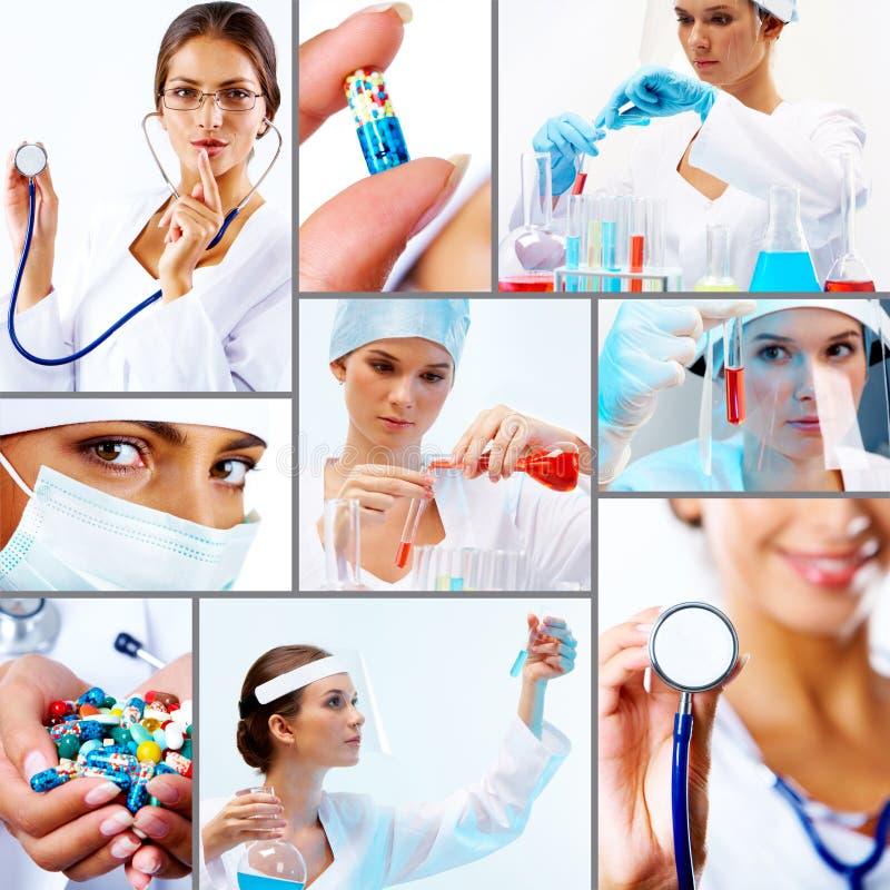 ιατρική κολάζ στοκ φωτογραφίες
