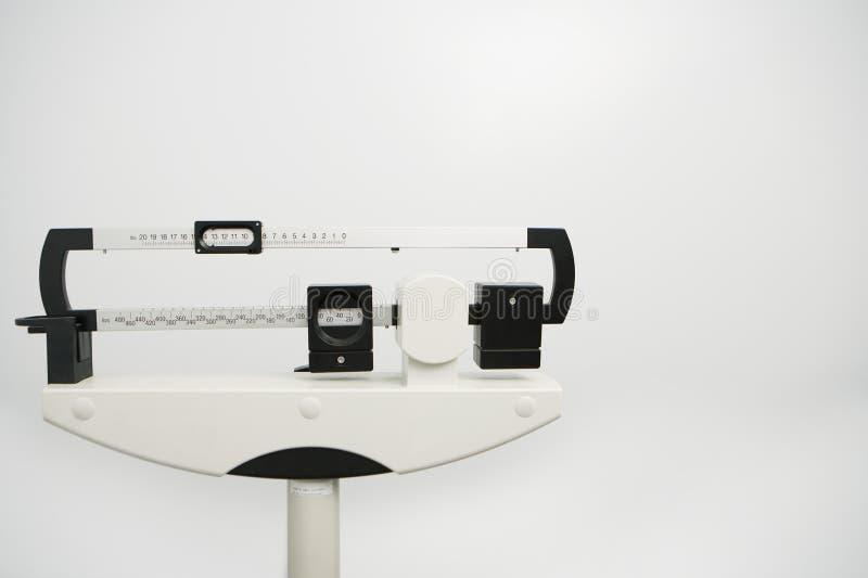 Ιατρική κλίμακα βάρους στοκ φωτογραφία με δικαίωμα ελεύθερης χρήσης