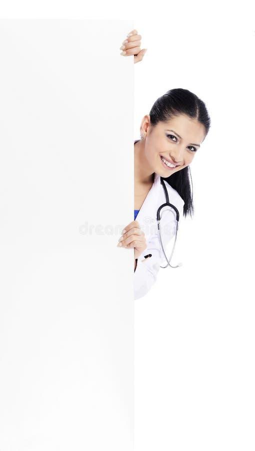 Ιατρική νοσοκόμα γιατρών σημαδιών στοκ φωτογραφίες