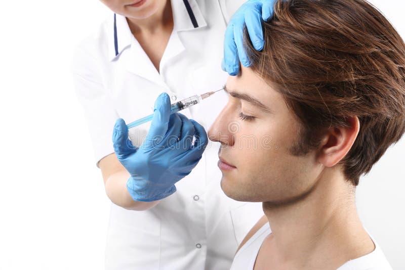 Ιατρική ομορφιάς, μείωση των ρυτίδων στοκ εικόνες με δικαίωμα ελεύθερης χρήσης