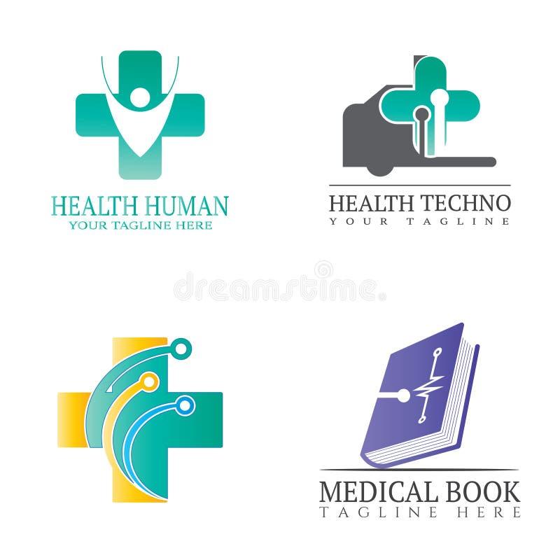Ιατρική περίθαλψη και ιατρικό εικονίδιο, σύμβολο φαρμακευτικής ιατρικής, λογότυπο stethoscope γιατρού, υγιής πνεύμονας, έντερο, α διανυσματική απεικόνιση