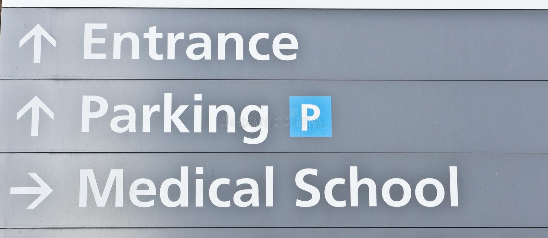 Ιατρική Σχολή στοκ φωτογραφίες