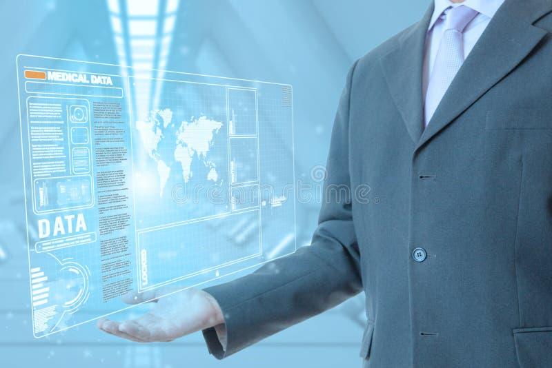 Ιατρική τεχνολογία επιχειρηματιών στοκ εικόνες με δικαίωμα ελεύθερης χρήσης