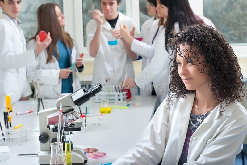 ιατρικοί σπουδαστές πορ στοκ φωτογραφία