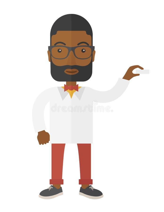 Ιατρικός επαγγελματικός όμορφος νέος γιατρός απεικόνιση αποθεμάτων