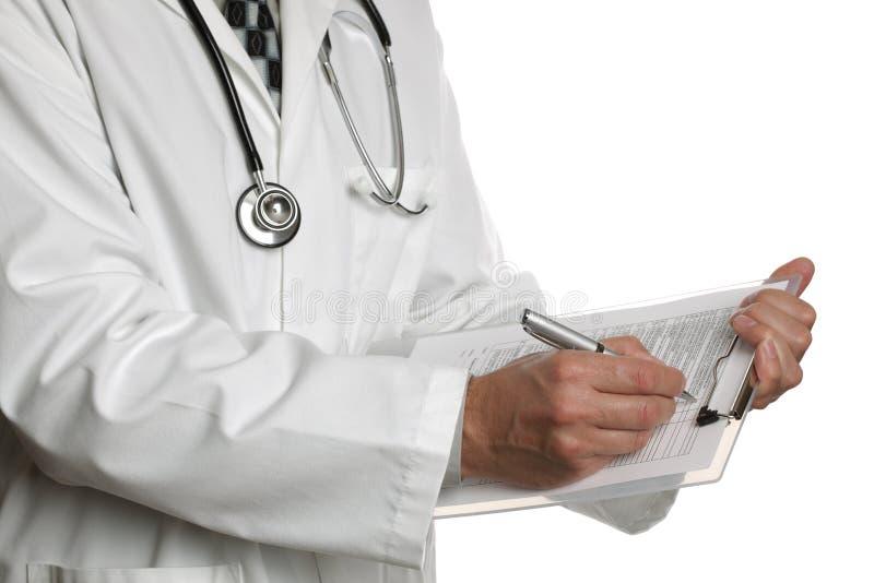 ιατρικό γράψιμο σημειώσε&omega στοκ εικόνες