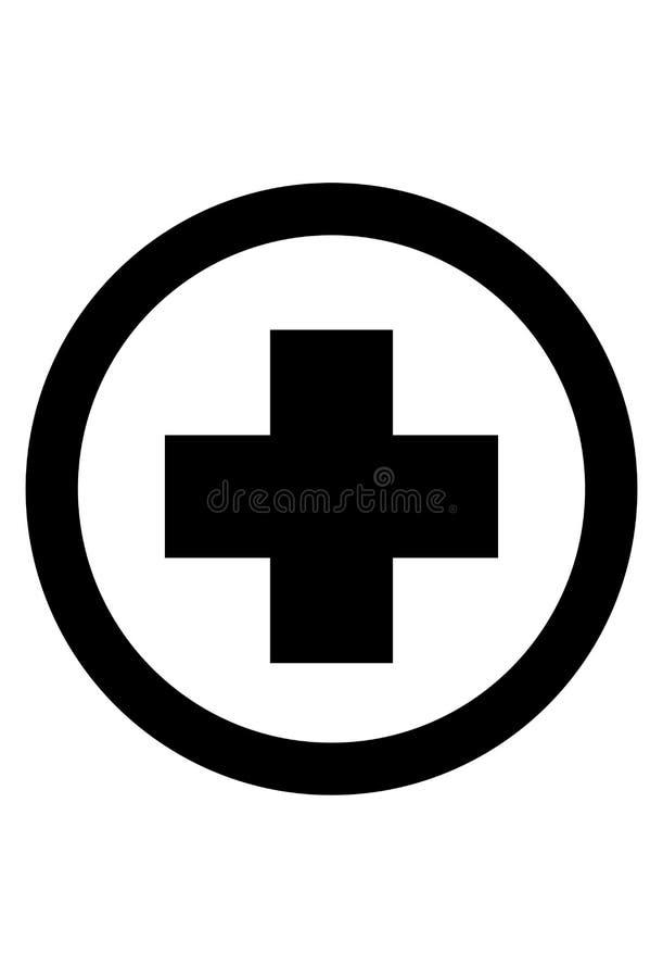 Ιατρικό διάνυσμα εικονιδίων σημαδιών απεικόνιση αποθεμάτων