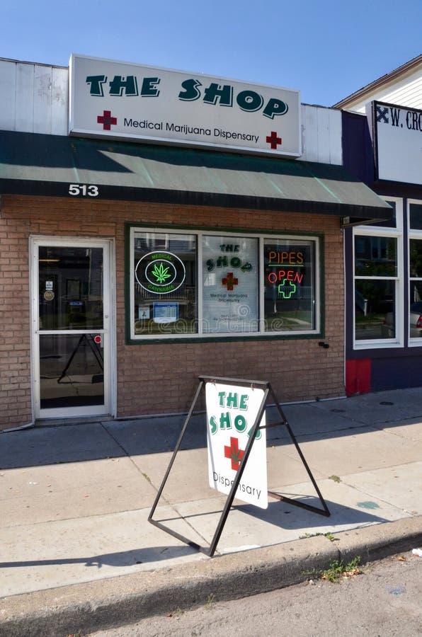 Ιατρικό ιατρείο μαριχουάνα στοκ φωτογραφίες με δικαίωμα ελεύθερης χρήσης
