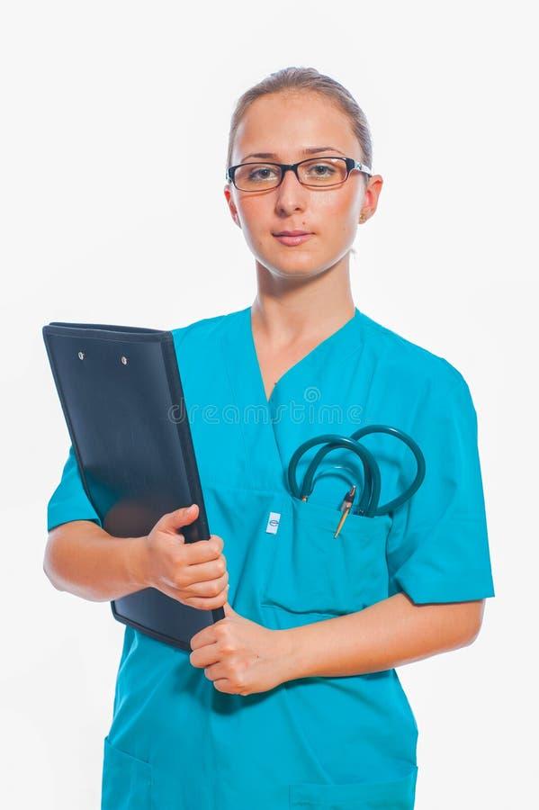 Ιατρικό πρόσωπο: Νοσοκόμα στοκ φωτογραφίες με δικαίωμα ελεύθερης χρήσης