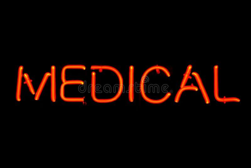 ιατρικό σημάδι νέου στοκ φωτογραφία με δικαίωμα ελεύθερης χρήσης